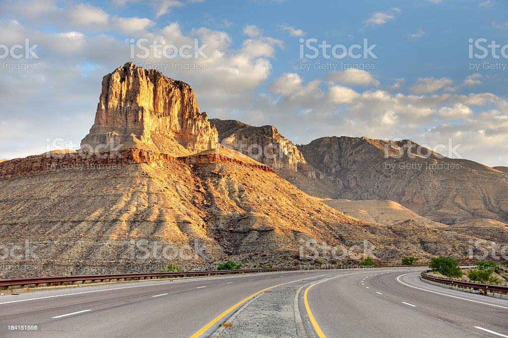 Guadalupe Mountains National Park royalty-free stock photo
