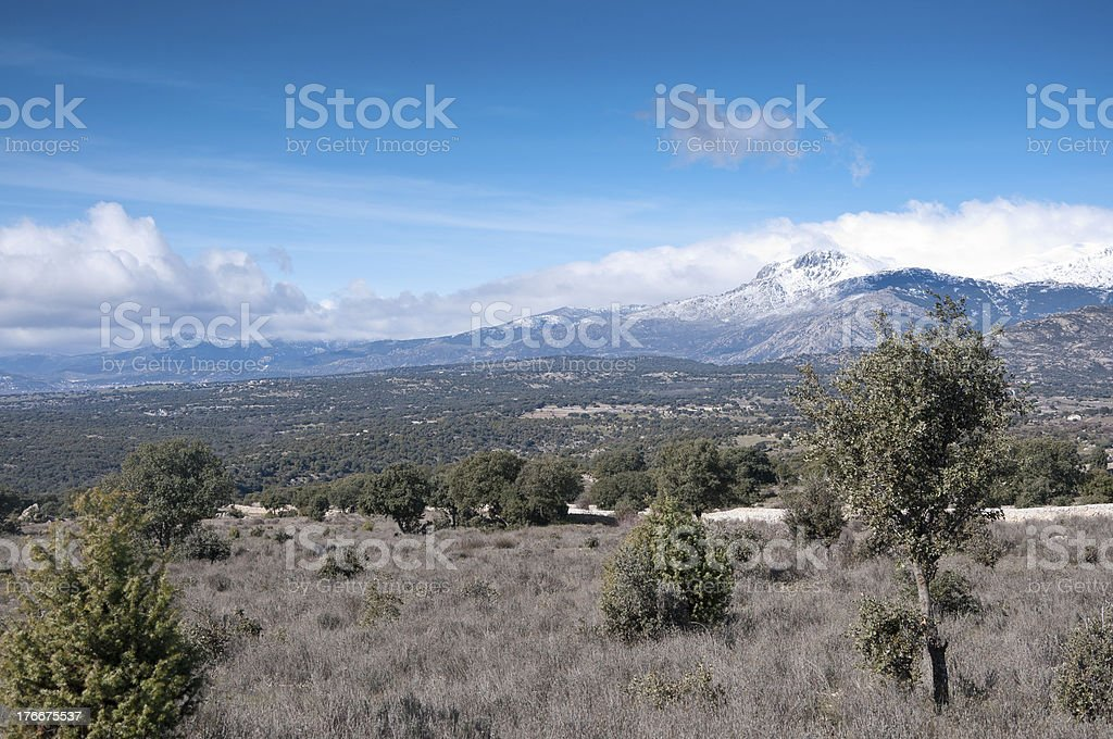 Guadarrama Mountains royalty-free stock photo