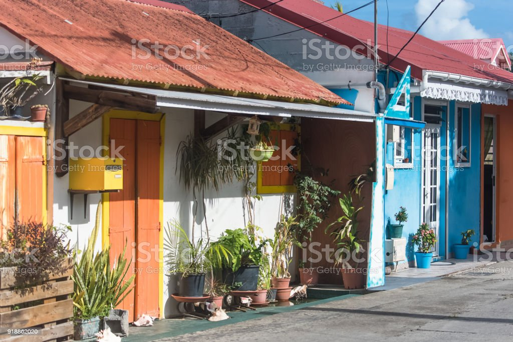 Guadeloupe, the Saintes islands stock photo