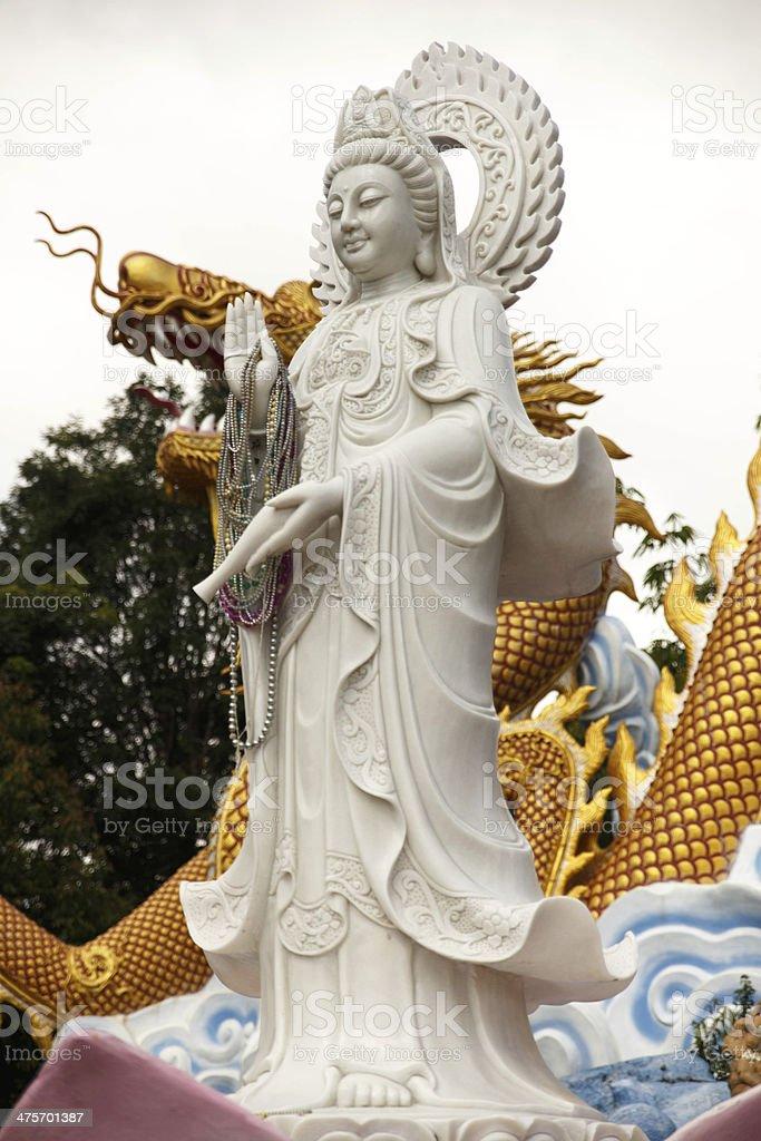 guan scalpture royalty-free stock photo