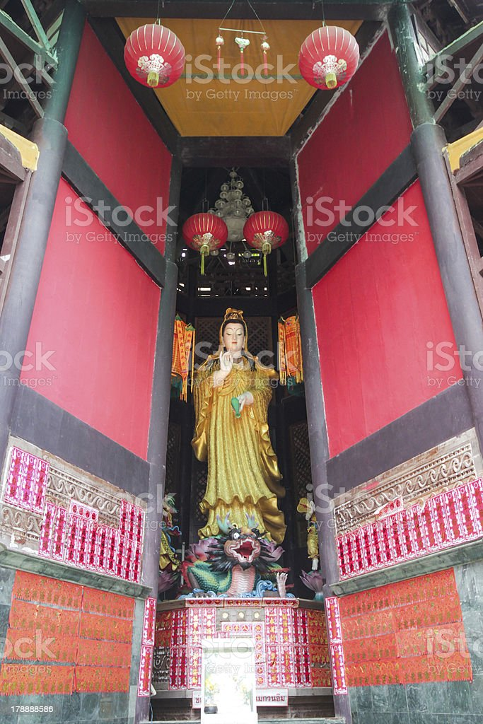 Guan Yin royalty-free stock photo