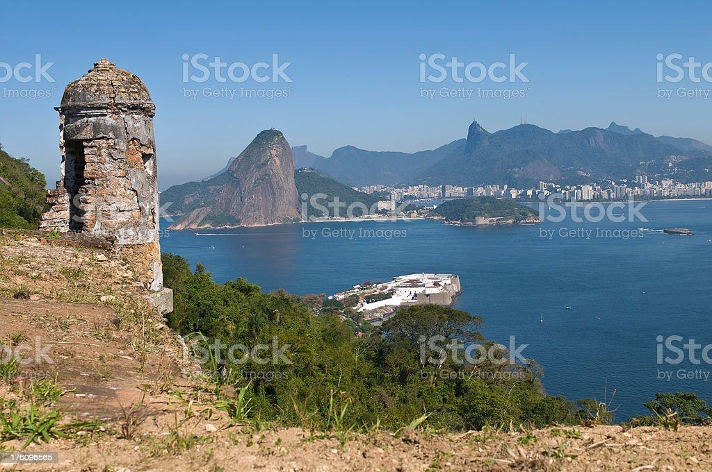 Guanabara bay stock photo