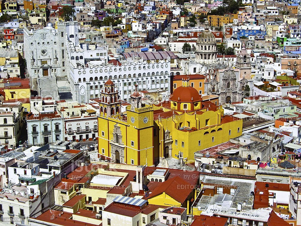 Guanajuato: A World Heritage Site royalty-free stock photo