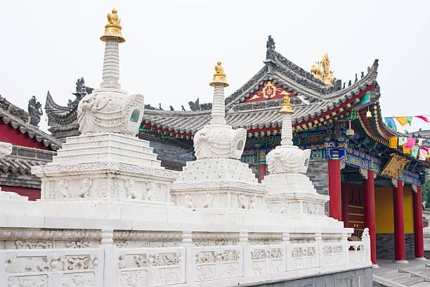 guangren temple , Xian, China stock photo