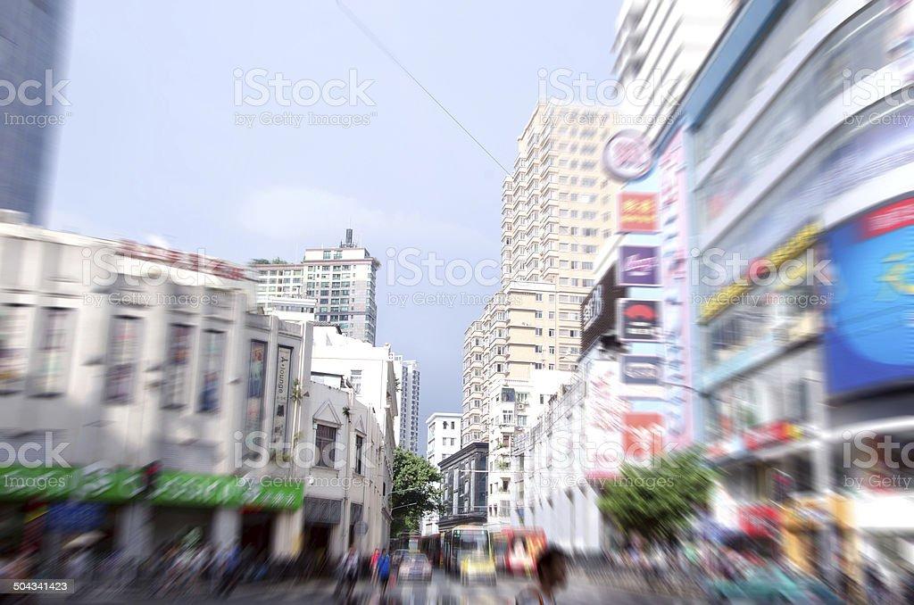 Guangzhou, China building stock photo