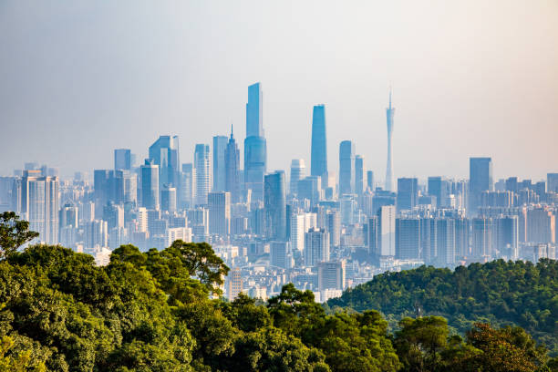 Guangzhou City Panorama – Foto