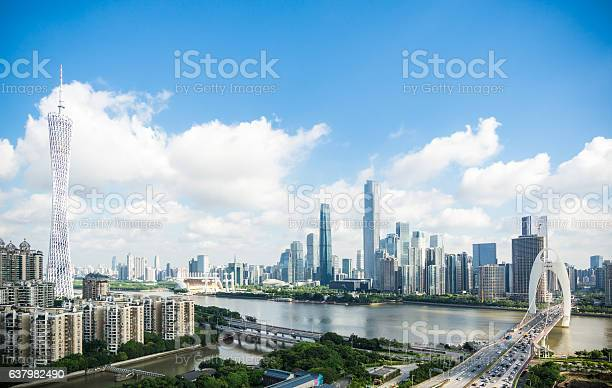 Photo of Guangzhou cityscape in daytime