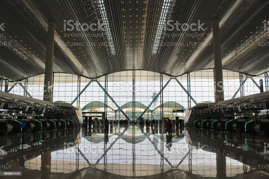 Guangzhou new T2 Airport Terminal - Royalty-free Air Vehicle Stock Photo