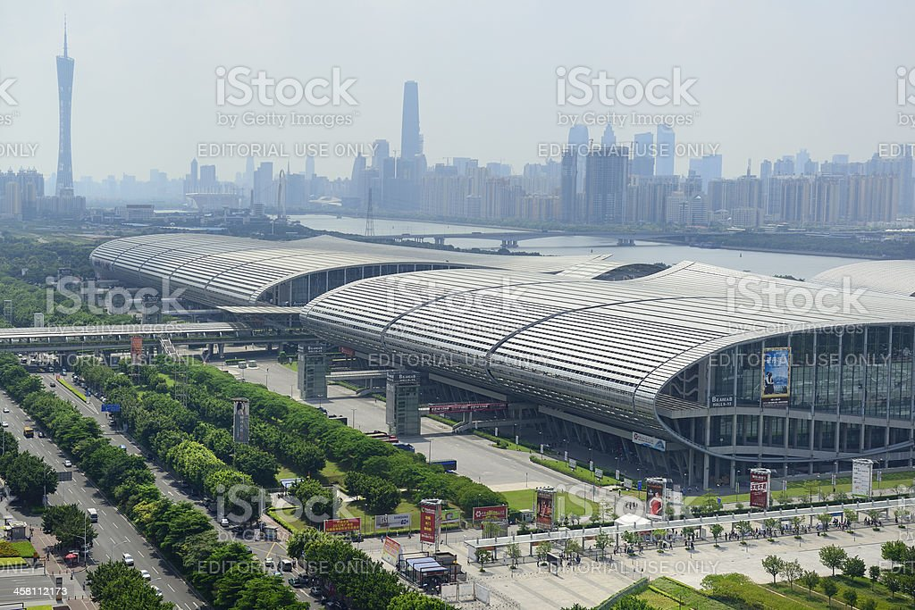 Guangzhou town stock photo