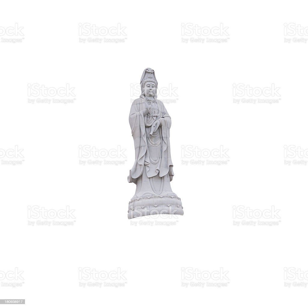 Guanyin. royalty-free stock photo
