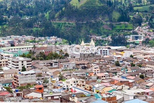 Guaranda, Ecuador, Andean capital city of the province of Bolívar