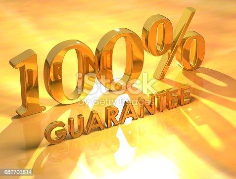 istock 100% Guarantee 682703814