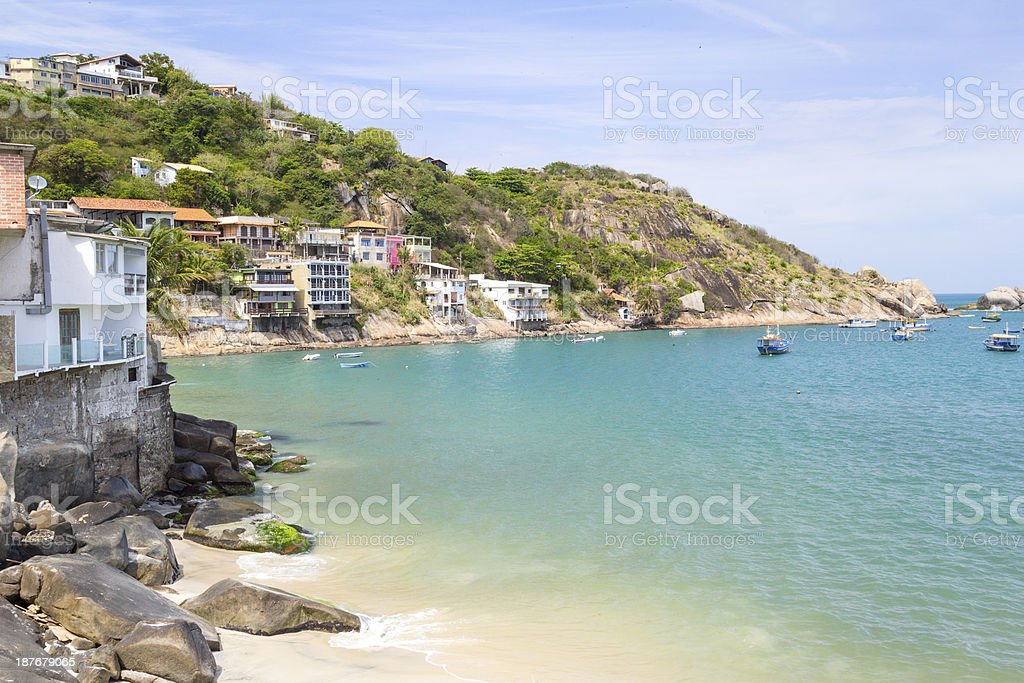Barra de Guaratiba royalty-free stock photo