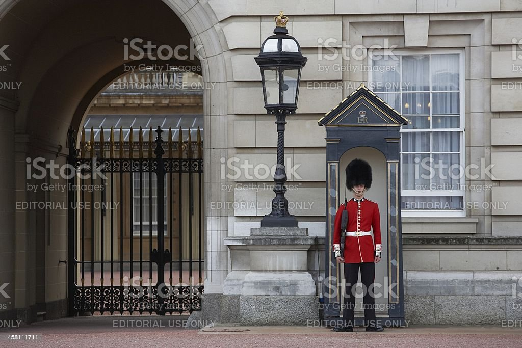 Guard royalty-free stock photo