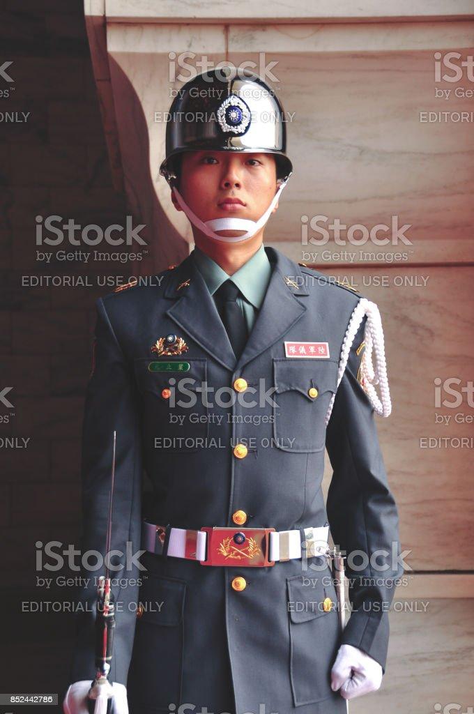 ROC Guard stock photo