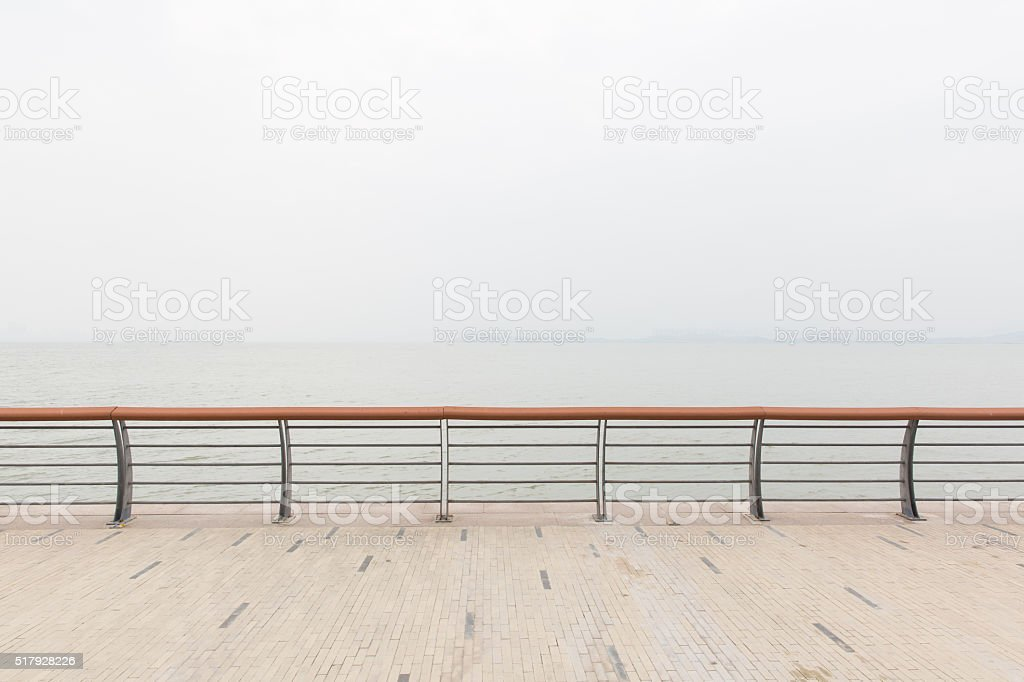 guard rail stock photo