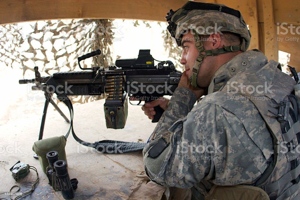 Guard Soldier royalty-free stock photo