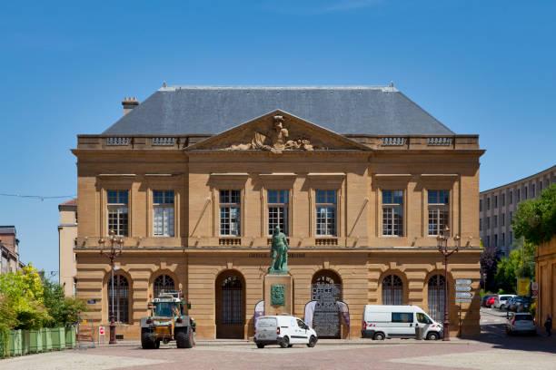 Guardhouse of Metz stock photo