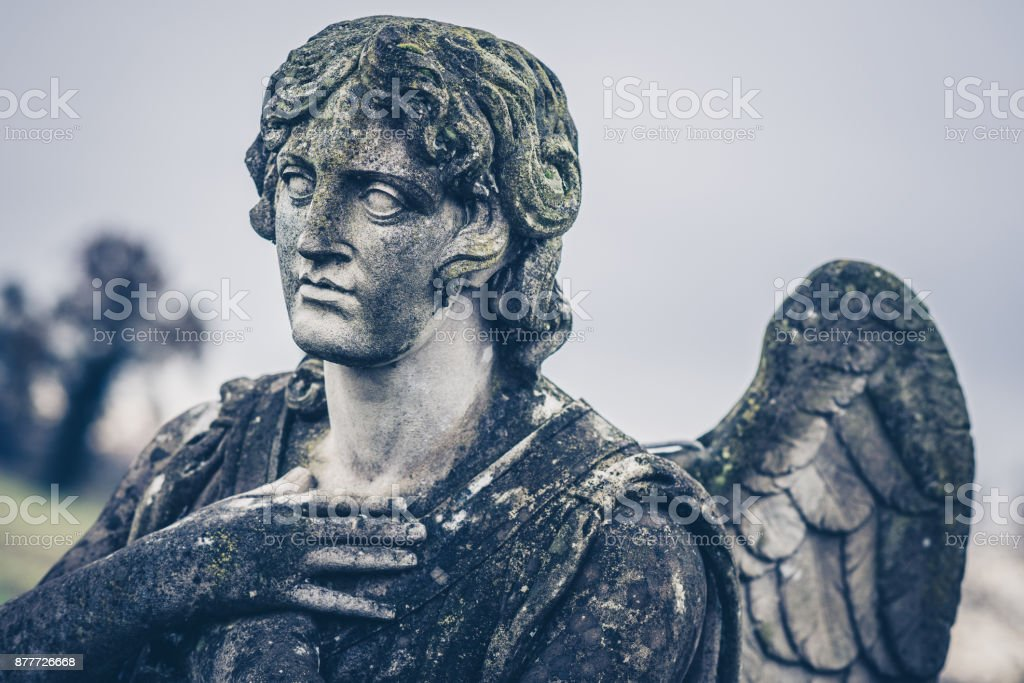 Guardian Angel Vintage Style Photo Stock Photo - Download