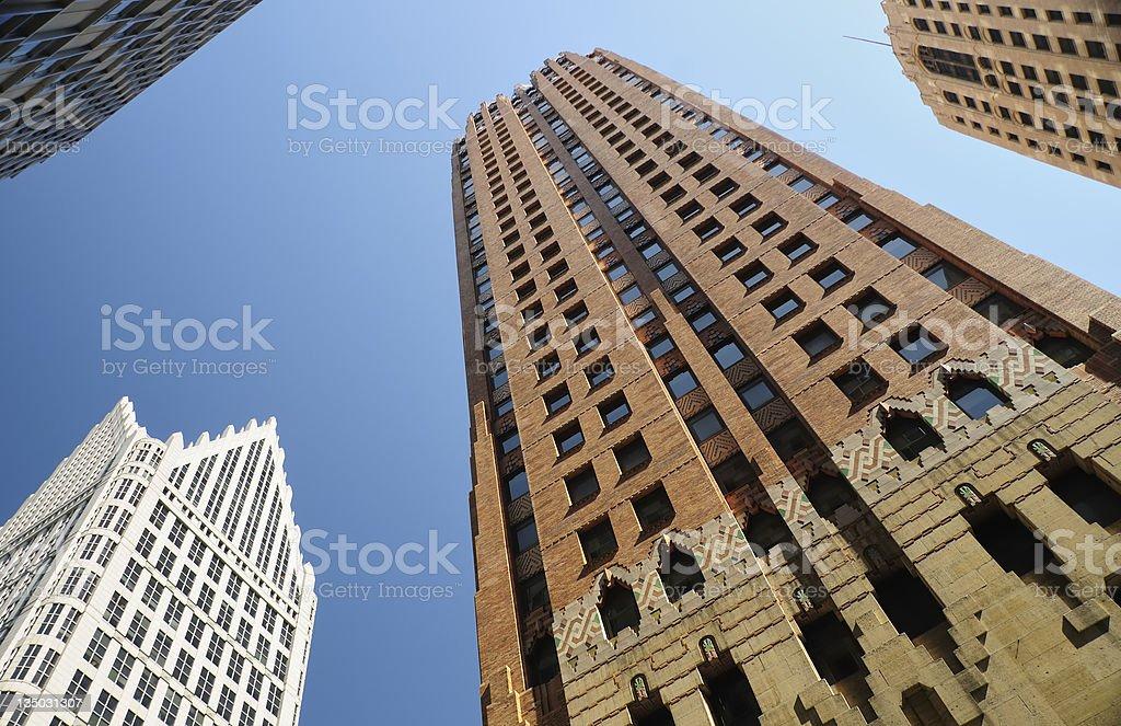 Guardian Building, Detroit stock photo