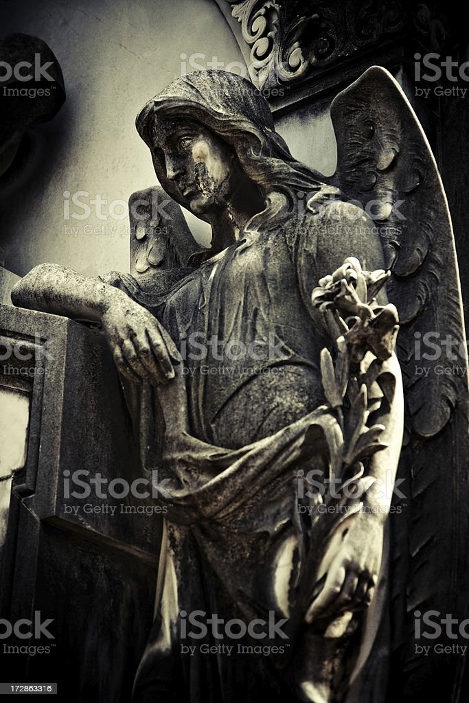 guardian of the deaths royalty-free stock photo