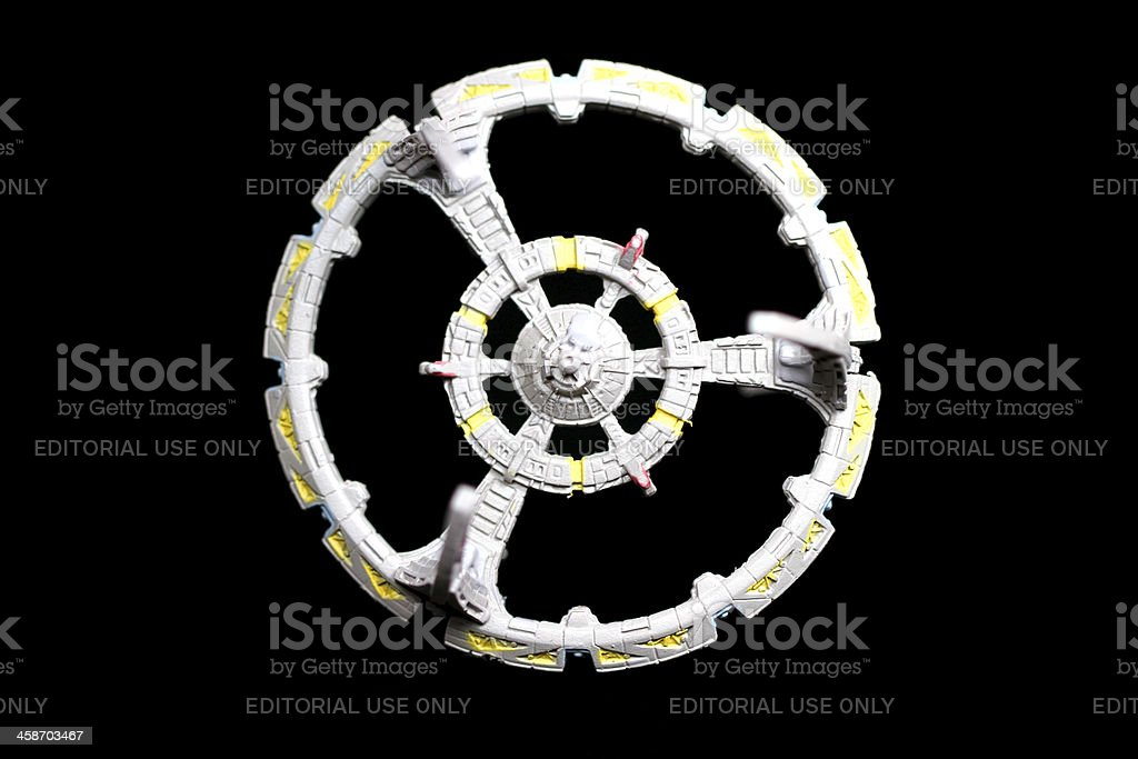 Guardian of the Wormhole stock photo