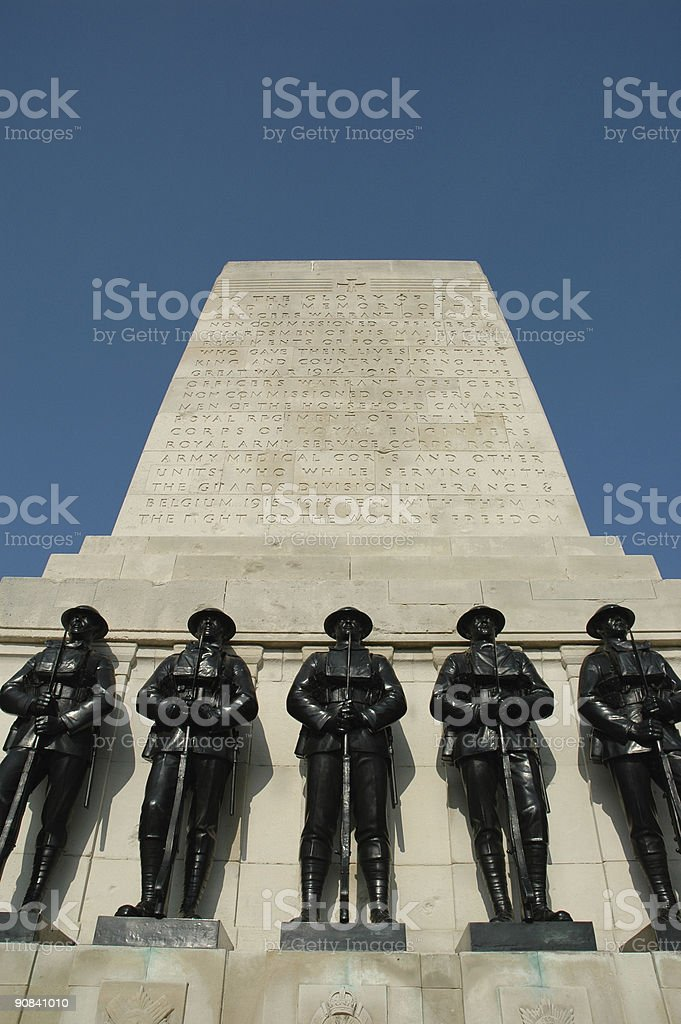 Guards Memorial (Portrait) royalty-free stock photo