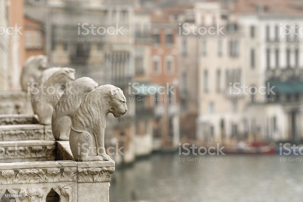 Guards of Venice royalty-free stock photo