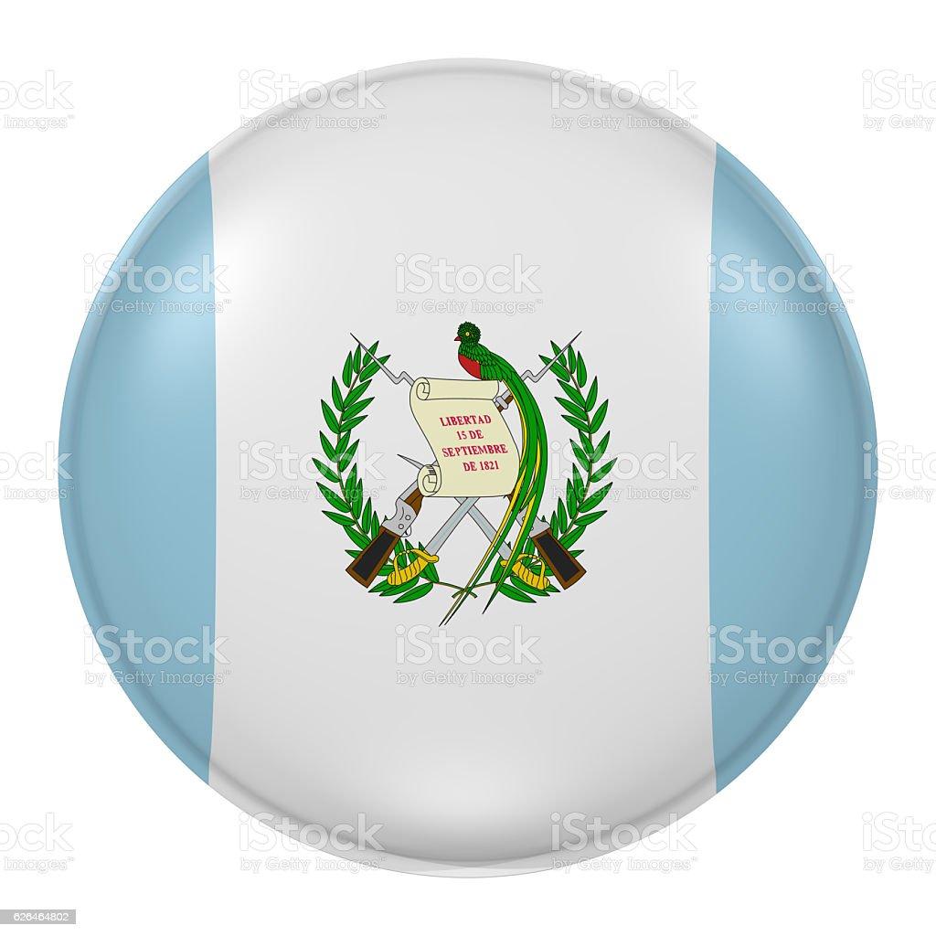 Guatemala button - foto de stock