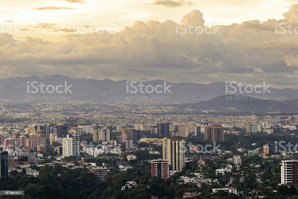 Guatemala City stock photo