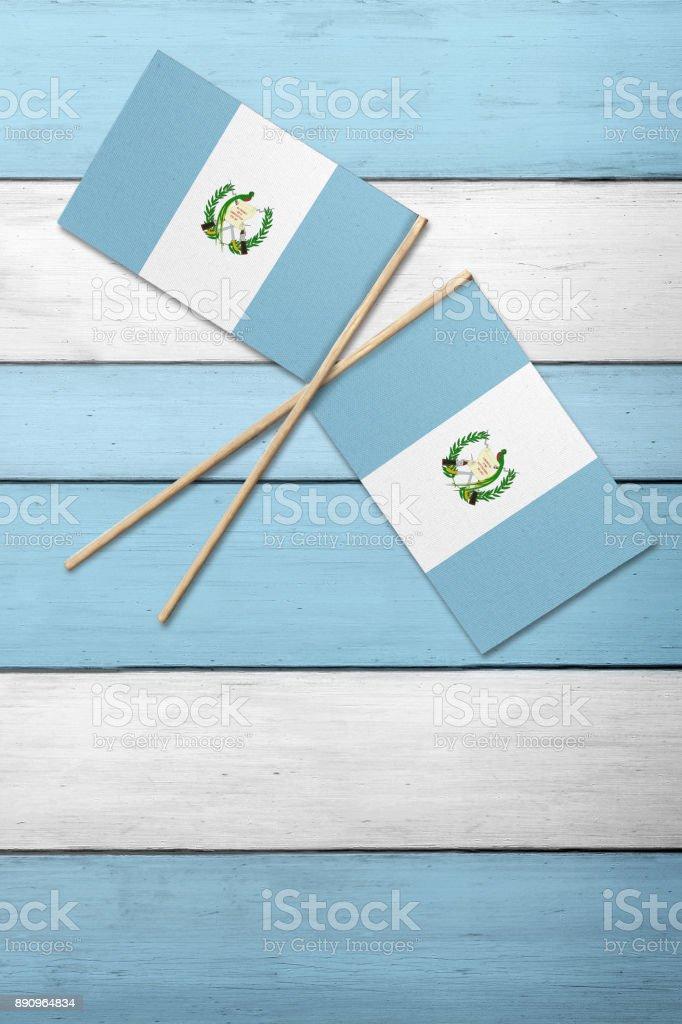 Bandera de Guatemala - foto de stock