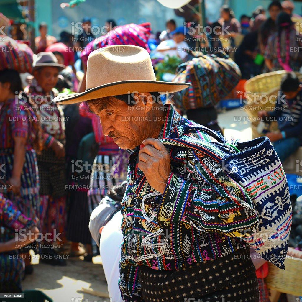 Guatemala Indigenous stock photo