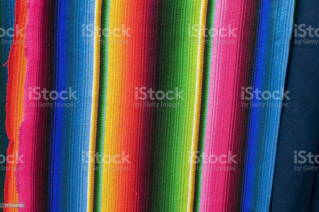 Guatemalan Artisan Blanket stock photo