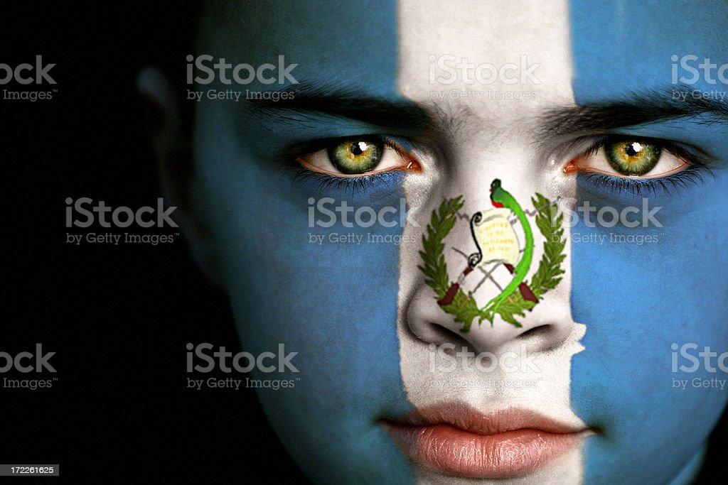 Niño guatemalteco - foto de stock