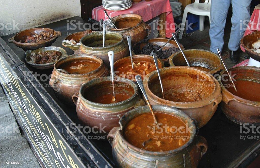 Guatemalan Chilis stock photo