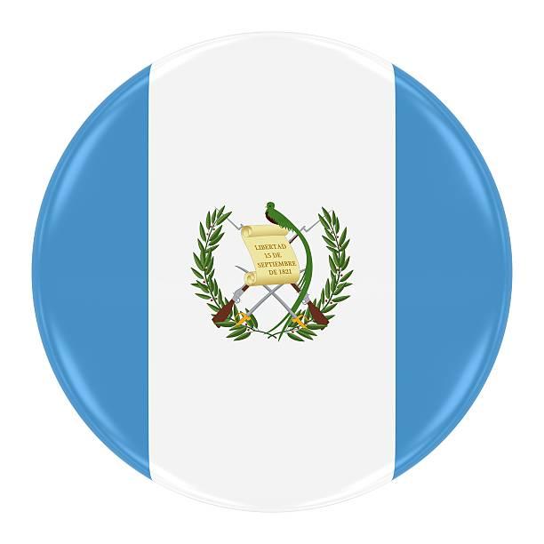 Bandera de guatemala tarjeta - foto de stock