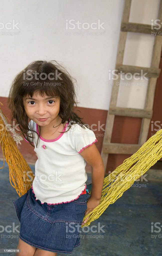 Guatemalan Girl royalty-free stock photo