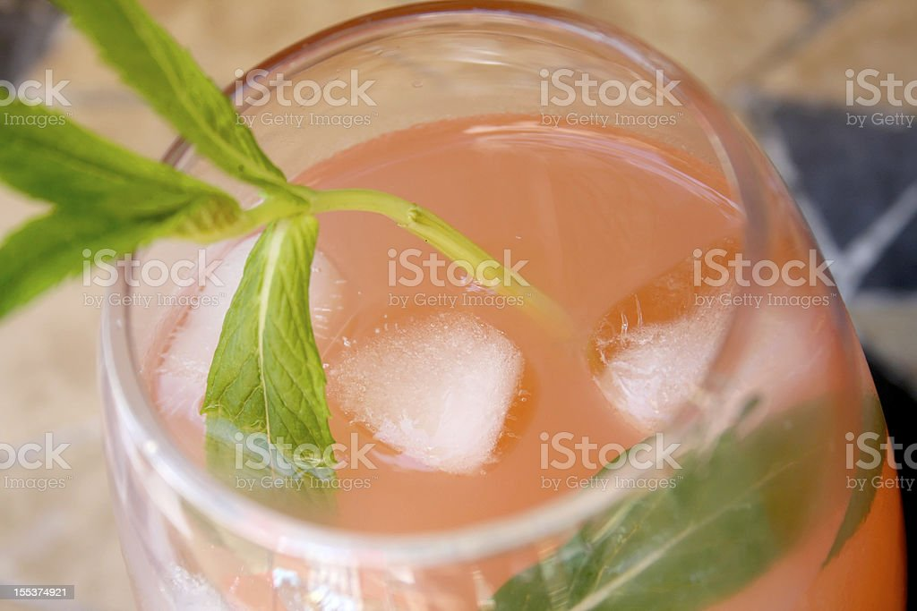 Guava and mint refreshment royalty-free stock photo