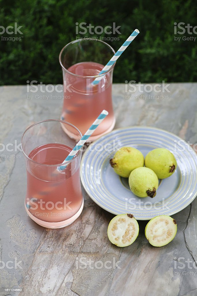 Guava cocktail royalty-free stock photo