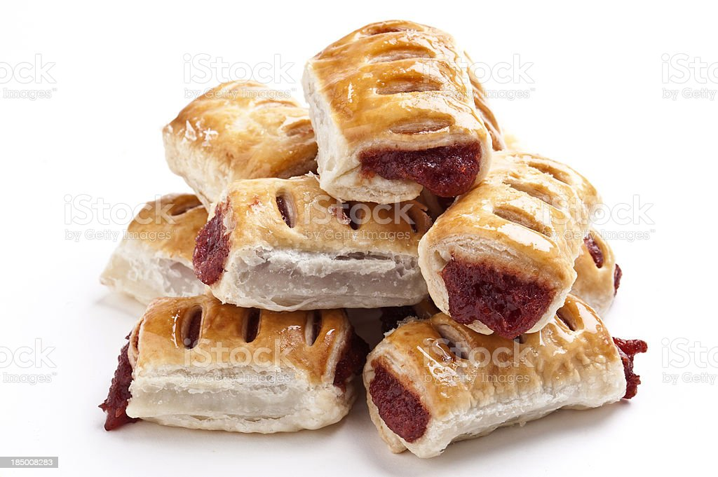 Guava paste filled pastries stock photo