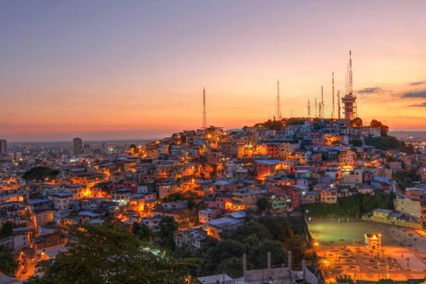 과야킬, 에콰도르 - 에콰도르 뉴스 사진 이미지