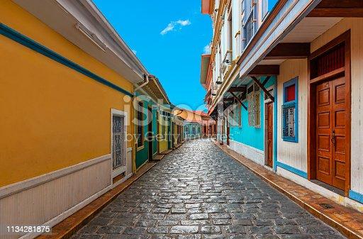 istock Guayaquil Street Colors, Ecuador 1134281875