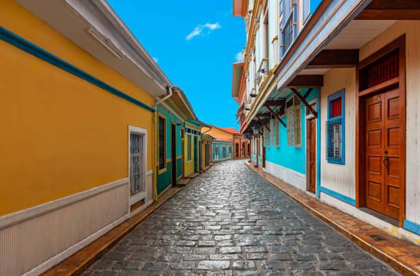 Guayaquil Street Colors, Ecuador stock photo