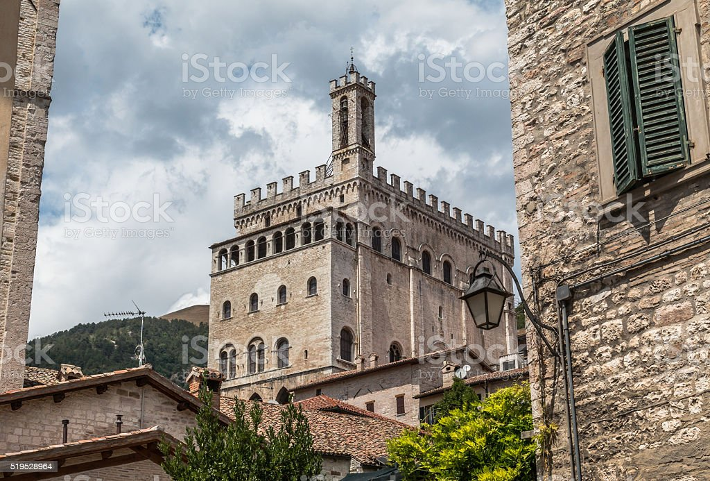 Gubbio stock photo