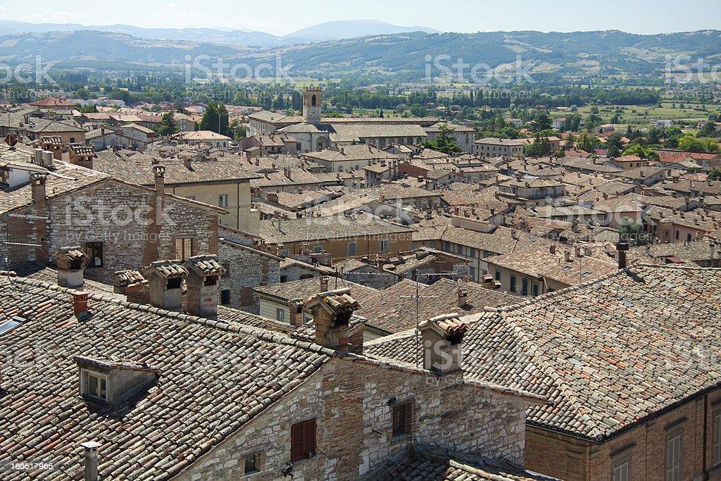 Gubbio royalty-free stock photo