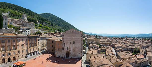 Gubbio - Umbria - Italy - foto stock