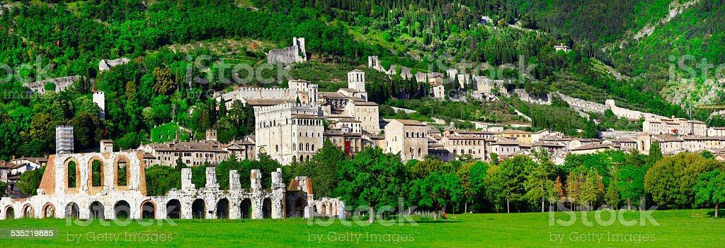 Gubbio,Umbria,Italy stock photo