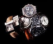 Gucci, Omega, Swatch, Seiko, Dolce & Gabbana luxury wristwatches