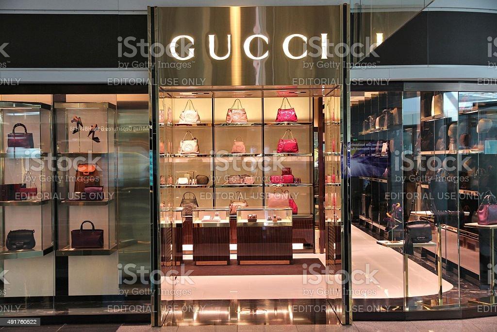 Gucci stock photo