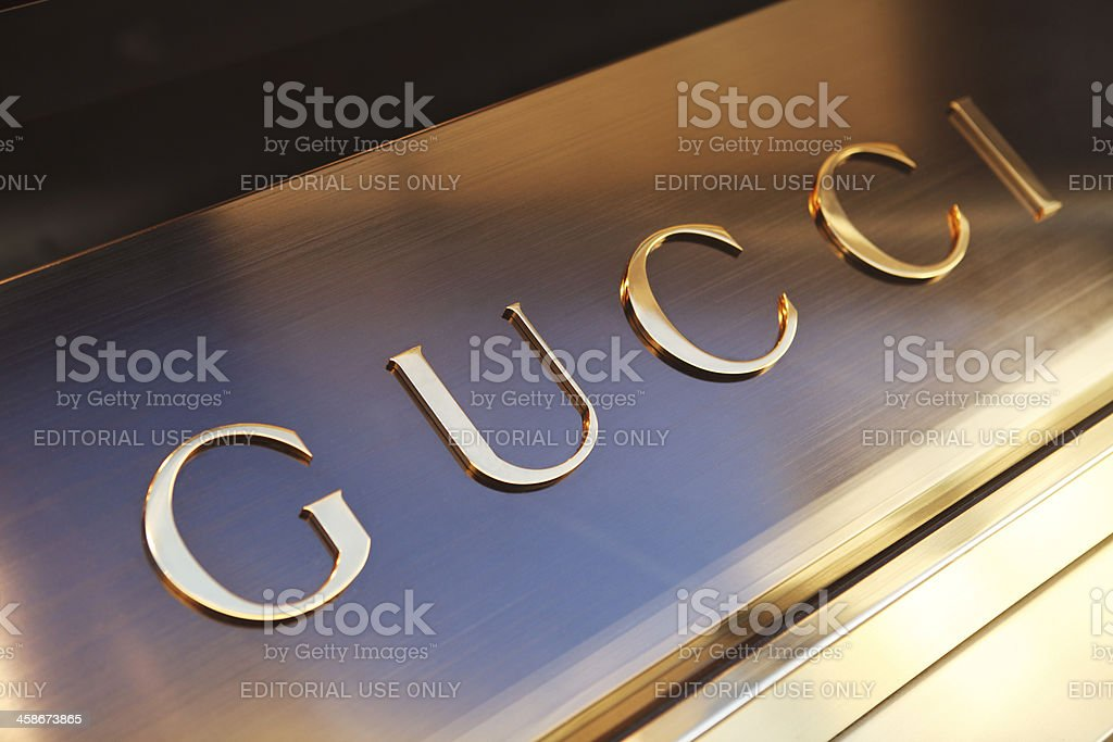 Gucci shop in Florence stock photo